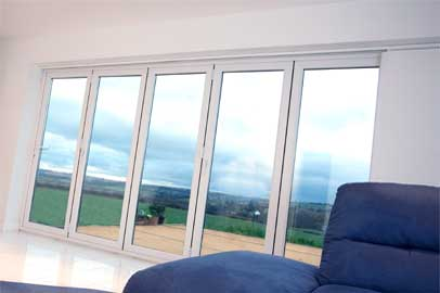 bi fold plus door from liniar hl plastics