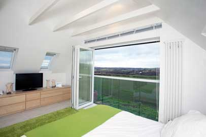 folding sliding door image