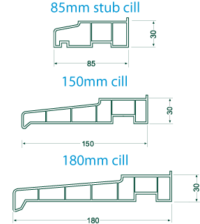 cills for bifold folding doors
