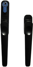 black handles to suit smarts aluminium folding sliding doors