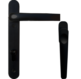 black handle for aluminium visofold doors