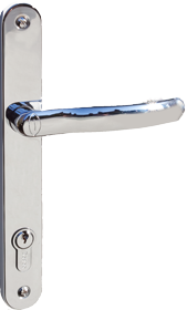 chrome handle for bifold plus bifold folding door
