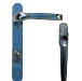 chrome coloured handle for bifold aluminium doors