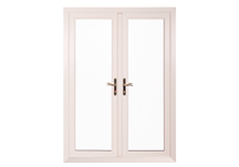 saluminium white french door