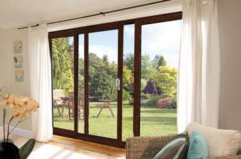 10ft ft rosewood upvc pvc sliding patio door synseal three pane rosweeod door planetlyrics Choice Image