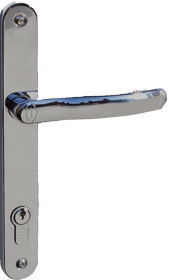 satin silver handle for folding door