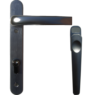 lever handles for aluminium folding doors