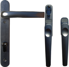 brushed steel handles for aluminium smarts bifold doors as used by smarts and express