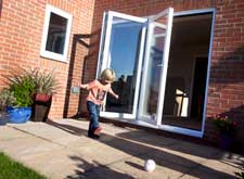 scheme 330 bifold plus door from liniar hl plastics