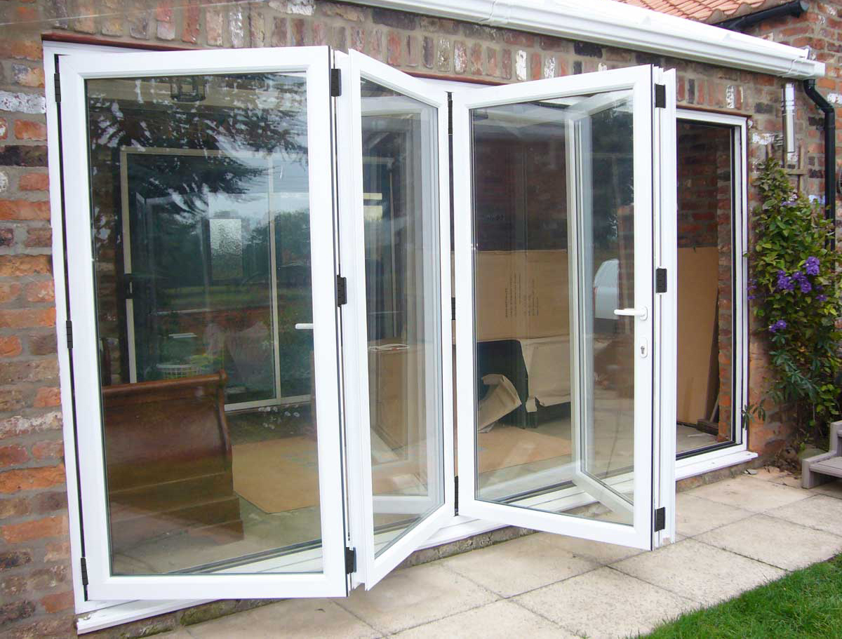 Folding doors bi folding doors york for Folding patio doors