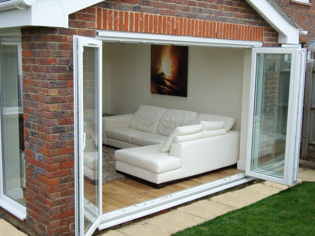 Four Pane Made To Measure Folding Sliding Bifold Doors