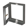lh hung side hung pvc window