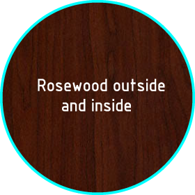 upvc rosewood colour