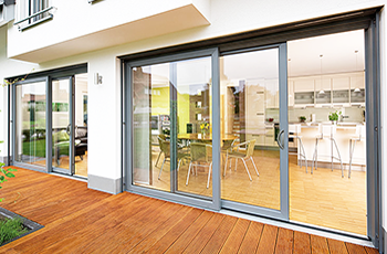 Aluminium Sliding Patio Doors In Smrts Visoglide
