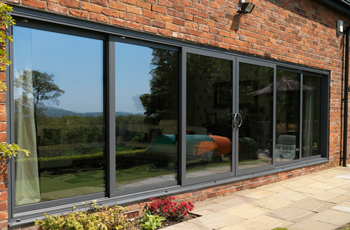 Six Pane Aluminium Sliding Patio Doors In Smarts Slide
