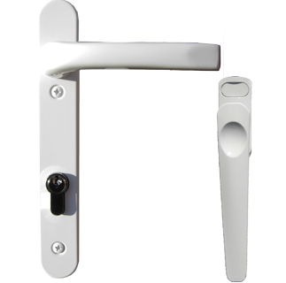 white handle for aluminium folding sliding bifolding doors